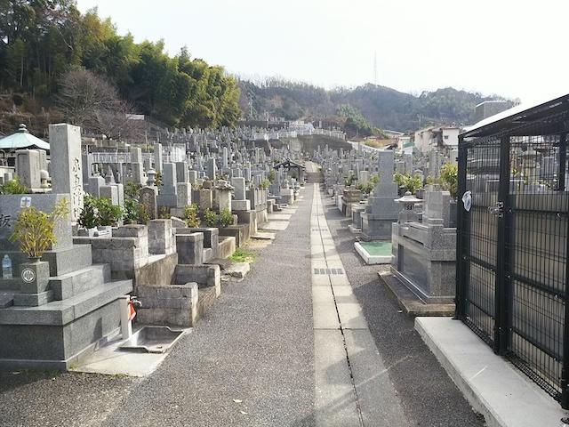 松山市営 天徳寺境外墓地01