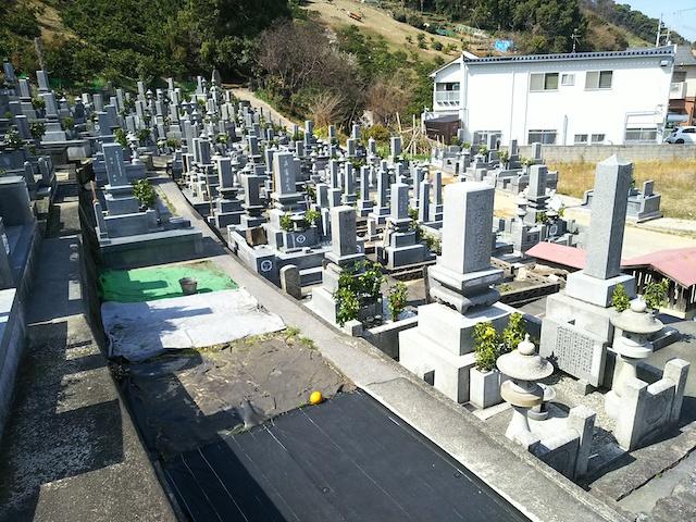 松山市営 北斎院墓地03