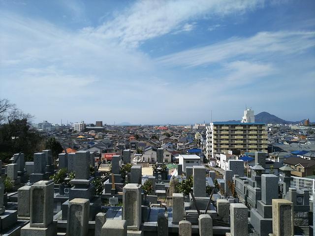 松山市営 大明神墓地06