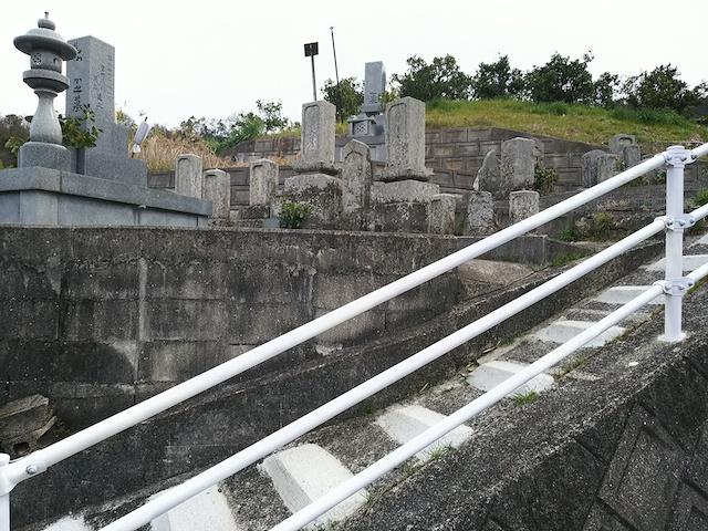 松山市営 平田墓地04