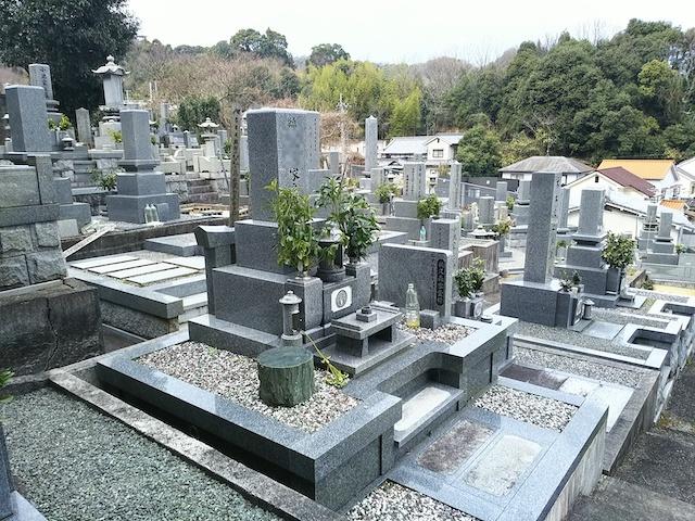 松山市営 太山寺墓地02