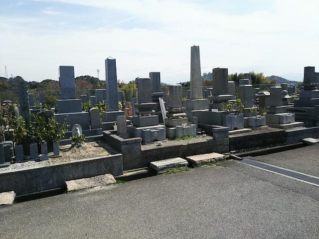 松山市営 大明神墓地05