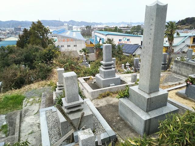 松山市営 馬木墓地03
