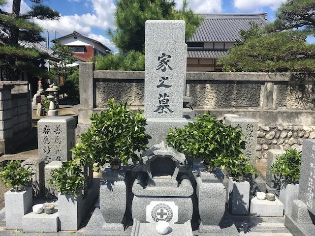 長覚寺西方苑墓地01