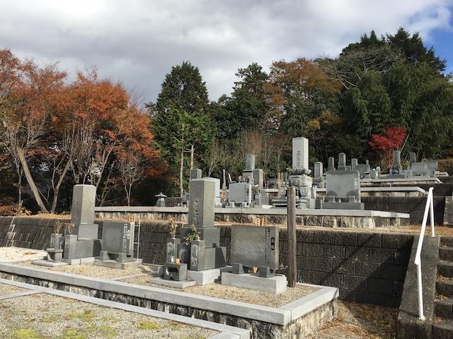 南木曽町営 神戸霊園03