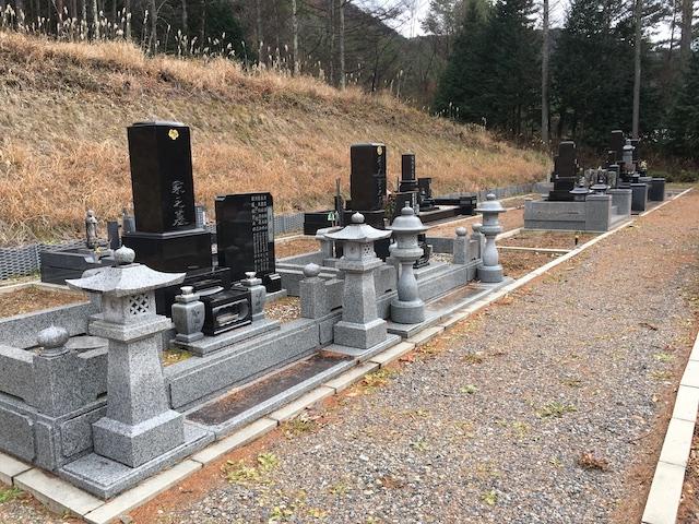 木祖村営 こもれび霊園03