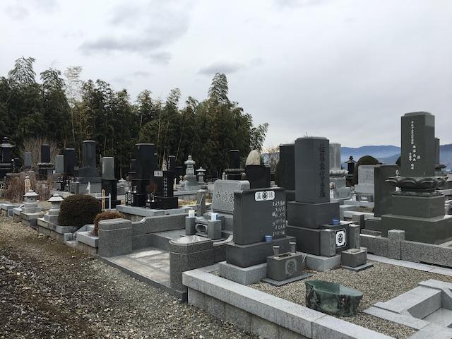 宮田村営 駒ヶ原墓地01