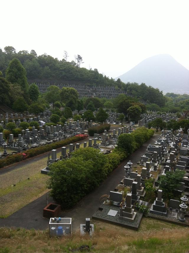 丸亀市営 青ノ山墓地公園01