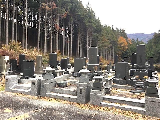 飯島町営 東小段公園墓地01
