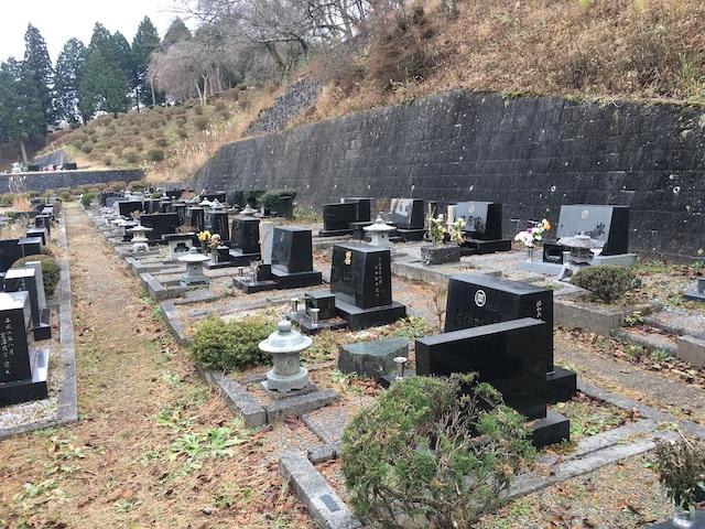 岡谷市営 内山霊園05