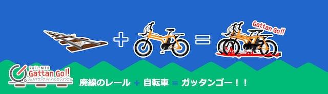 レールマウンテンバイク「ガッタンゴー!!」