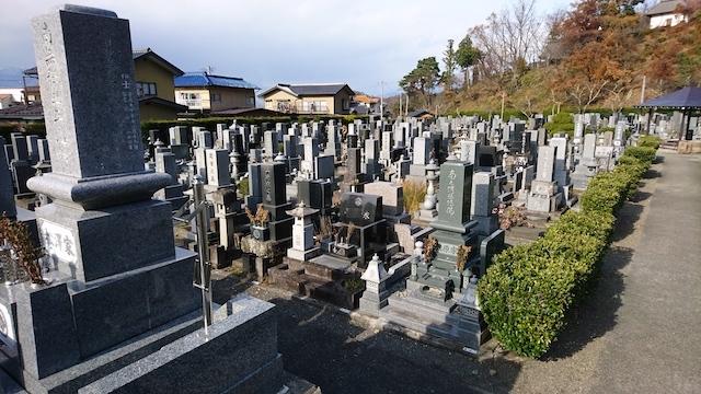 須坂市営 坂田霊園04