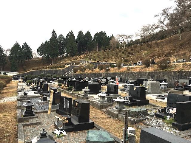 岡谷市営 内山霊園04