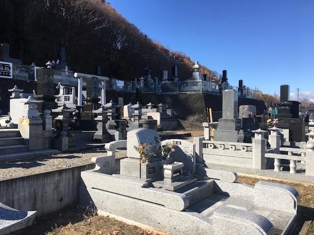 佐久市営 臼田第二霊園02