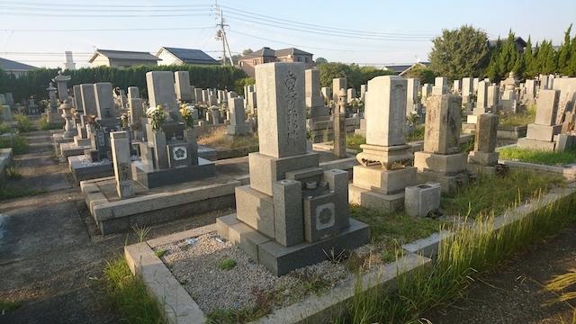 丸亀市営 城南共葬墓地02