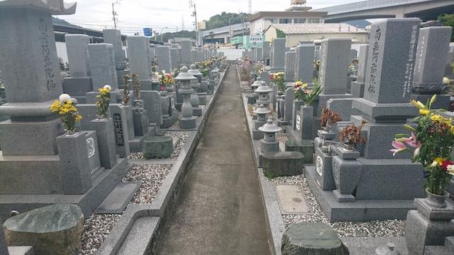 坂出市営 新田尾墓地02