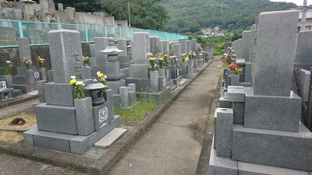 坂出市営 笠山墓地03