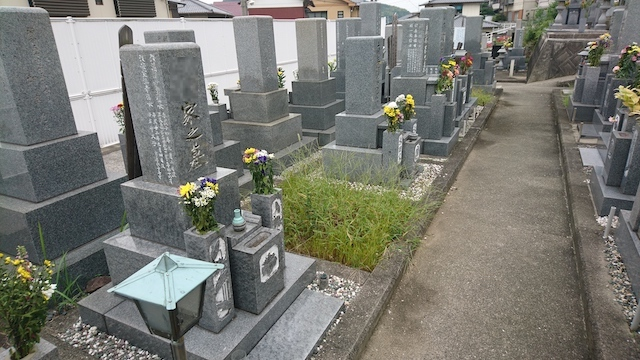 坂出市営 笠山墓地02