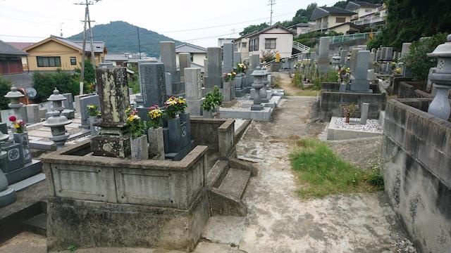 坂出市営 笠山墓地01