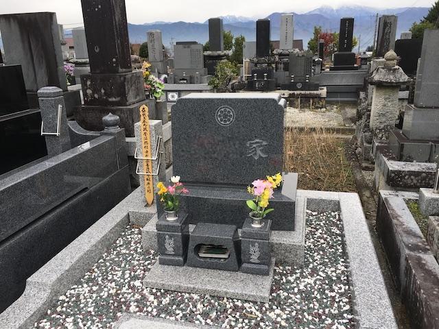 駒ヶ根市営 切石墓地05