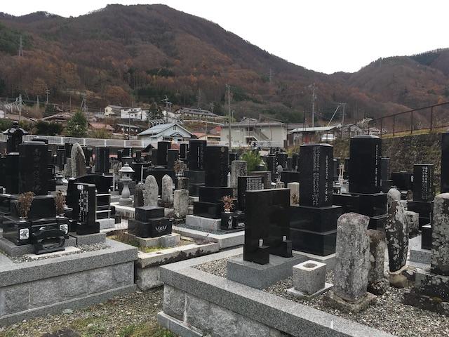 木祖村営 一里塚霊園02