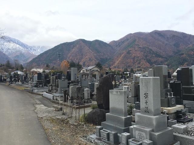 駒ヶ根市営 切石墓地03