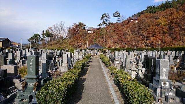 須坂市営 坂田霊園03
