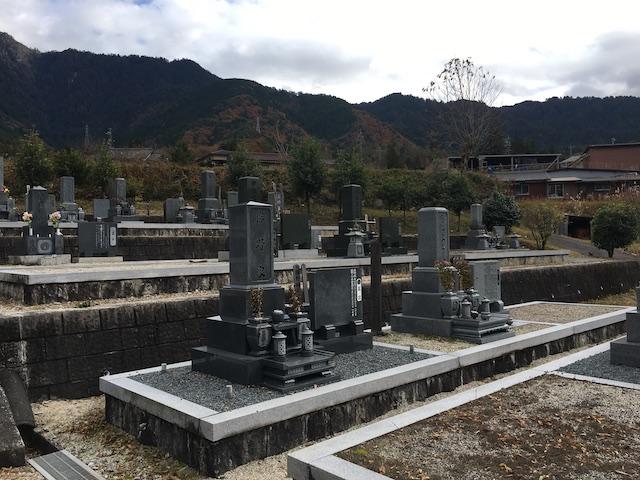 南木曽町営 神戸霊園02