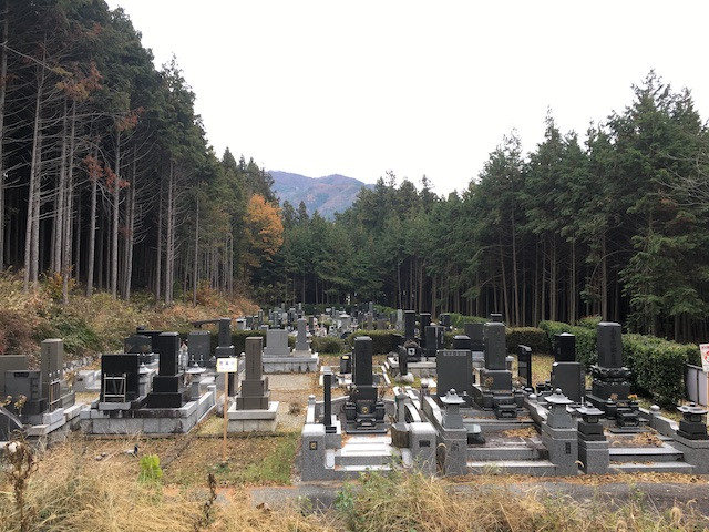 飯島町営 東小段公園墓地02