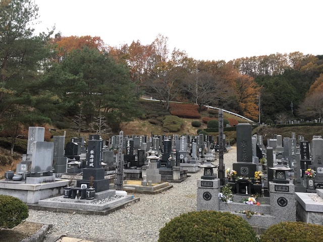 飯田市営 桐林墓地公園01