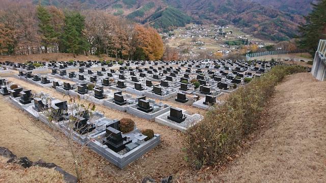 松本市営 中山霊園05