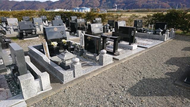 安曇野市営飯田霊園02