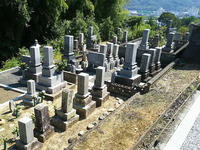 津山市営二宮墓地6