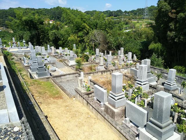 津山市営二宮墓地4