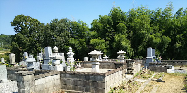 津山市営二宮墓地1
