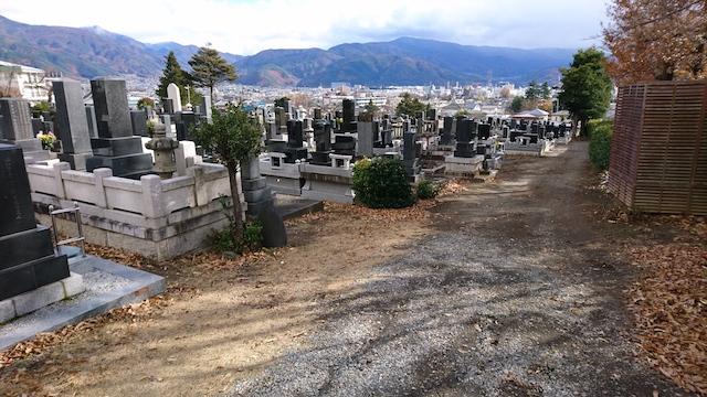 松本市営 蟻ヶ崎霊園06