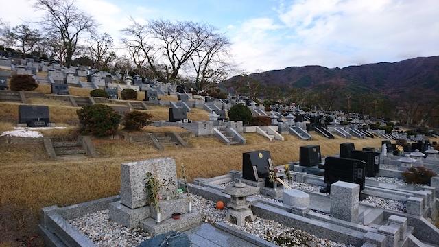 松本市営 中山霊園04