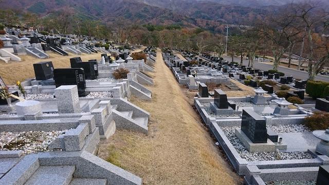 松本市営 中山霊園07