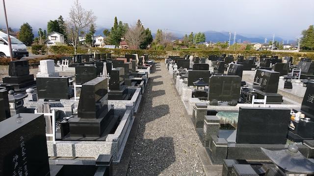 安曇野市営飯田霊園04