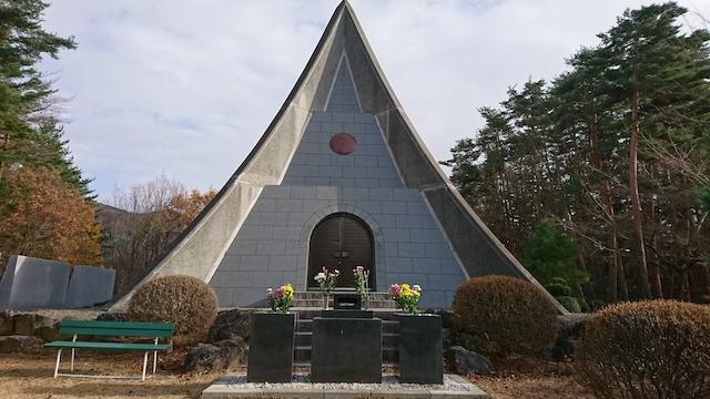 松本市営 中山霊園01