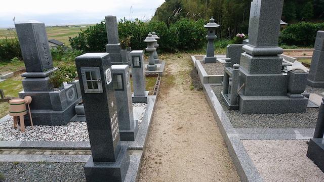 新奥ノ谷墓地3