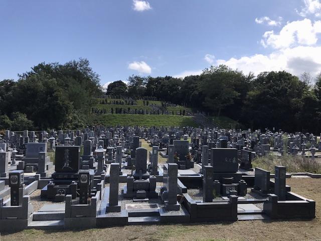 米子市営南公園墓地04