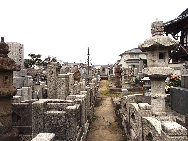 鳥取県行徳墓地16