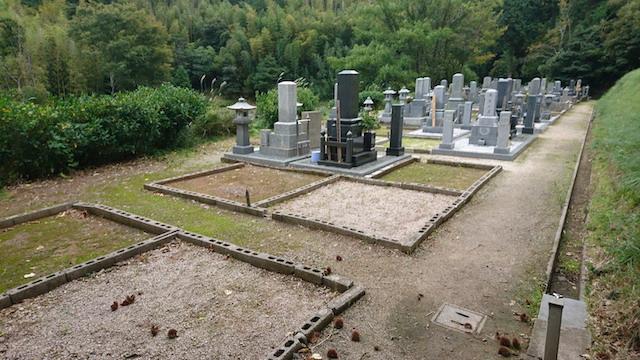 新奥ノ谷墓地1