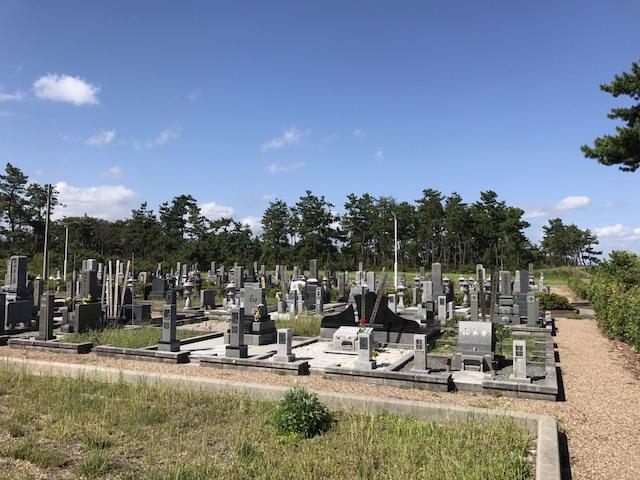米子市営佐陀墓苑02