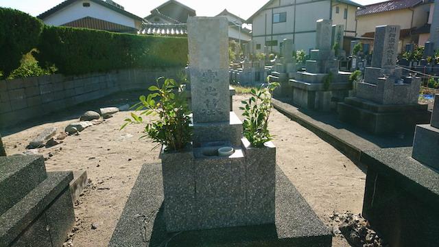 下府下の浜共同墓地ー霊園2