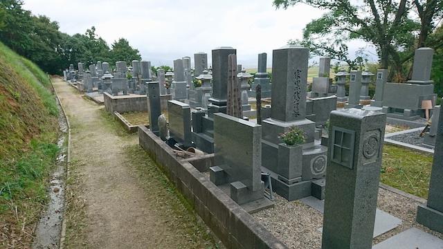 新奥ノ谷墓地6