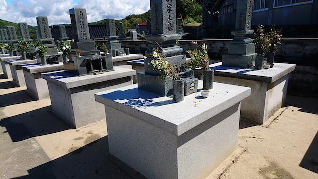 大田市営津辺東墓地05