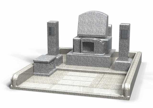 伯耆町町営公園墓地01
