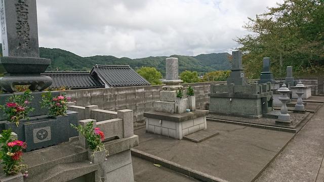 大田市営 汐迫墓地01